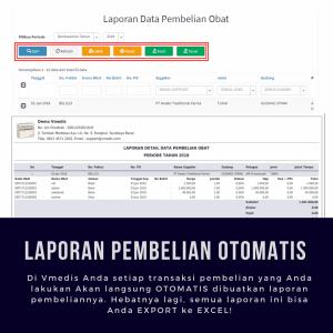 Laporan Pembelian Otomatis - Software Apotek