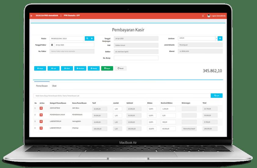 Software Apotek Padang Sidempuan